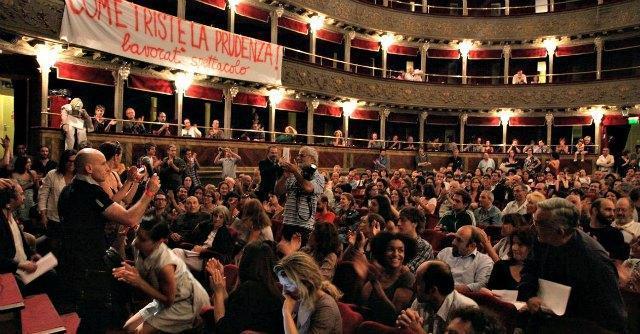 """Teatro Valle, sindaco sfratta gli occupanti: """"Facciamo un bando, lasciate la struttura"""""""
