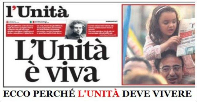 L'Unità, l'offerta di Guido Veneziani Editore preferita al banchiere Arpe