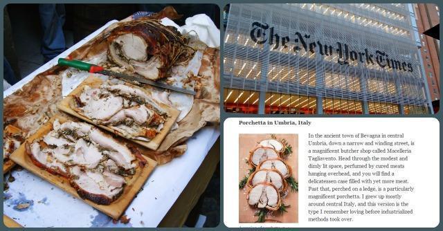 New york times anche la porchetta fra i cibi da non for Da non perdere a new york