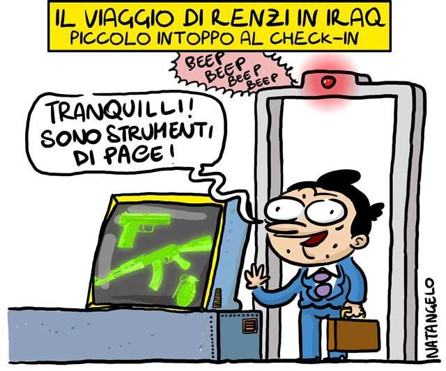 Renzi, esportiamo democrazia