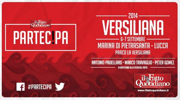 Versiliana 2014, partecipa alla festa del Fatto Quotidiano – il programma
