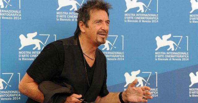 """Festival di Venezia, il giorno di Al Pacino: ecco """"The Humbling"""" e """"Manglehorn"""""""