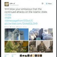 """Iraq, l'Isis minaccia gli Stati Uniti su Twitter: """"Siamo nelle vostre strade"""""""
