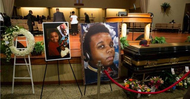 Funerali Michael Brown