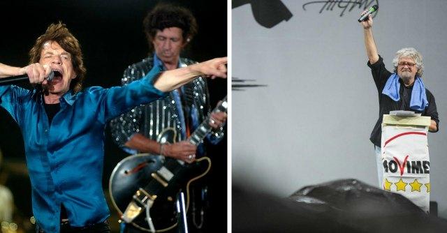 Appello di Grillo ai Rolling Stones: 'Tornate o Marino non ci dà il Circo Massimo'