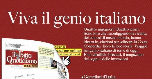 Fatto del lunedì – Viva il genio italiano: la storia di chi ha recuperato la Concordia