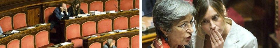 IMMUNITA' AI SENATORI NOMINATI La maggioranza vota e si approva lo scudo