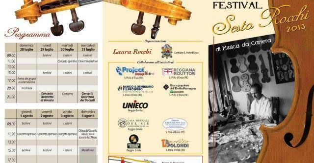 Sesto Rocchi, orchestre e talenti. Il festival dei Prodi: tanta musica e niente politica