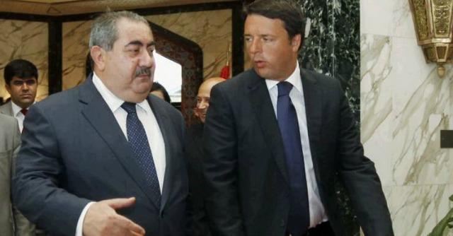 Al Abadi e Renzi