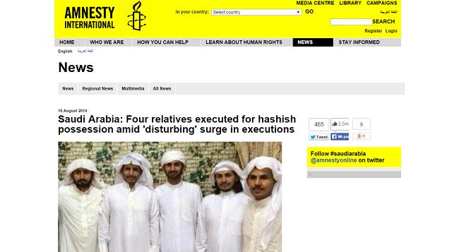 Pena di morte in Arabia Saudita: terminato 'il mese del boia'