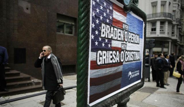 Default Argentina: per gli Usa è colpevole di non arrendersi agli speculatori