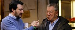 """Lega vs Lega, Salvini: """"Bossi, stai sereno Ma non 'alla Renzi'. Nessuna pugnalata"""""""