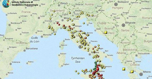 Terremoto in Toscana: scossa di magnitudo 3.4 tra Firenze e Siena