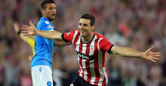 Champions League, Athletic Bilbao – Napoli. Azzurri fuori con un brutto ko 3-1