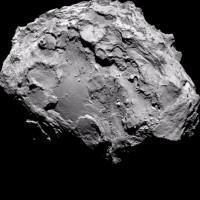 La cometa 67P/ Churyumov-Gerasimenko
