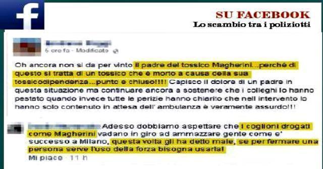 Magherini, denuncia per carabinieri e poliziotti: su facebook insulti e foto del Duce