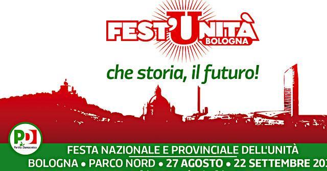 Festa dell'Unità Bologna, nel manifesto spunta la torre Unipol