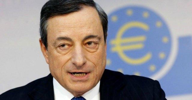 """Draghi: """"In Europa investimenti carenti. Per ripartire rafforzare politiche strutturali"""""""