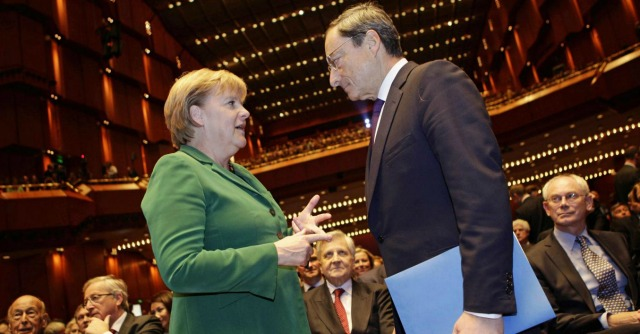 Draghi-Merkel e quella telefonata chiarificatrice