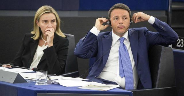 """Mogherini, Renzi: """"Responsabilità e orgoglio, c'è nuova generazione di leader"""""""