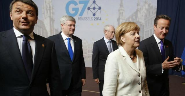 Renzi, Merkel e Cameron