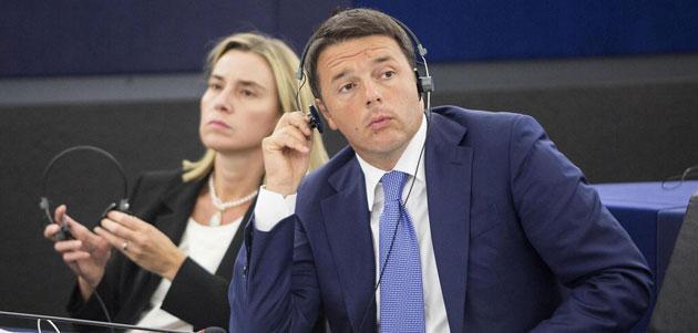 Renzi, a Bruxelles col manuale Cencelli