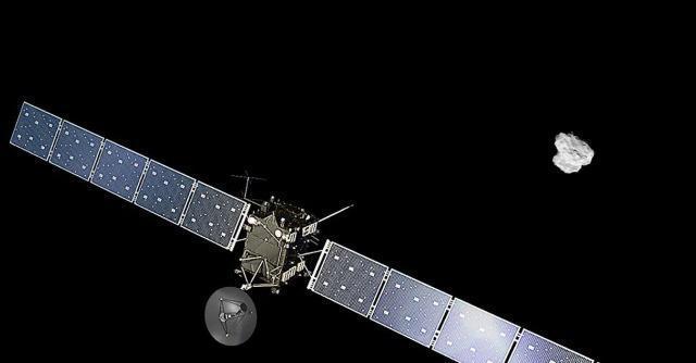 """Sonda Rosetta, arrivata alla cometa: """"Missione unica ed entusiasmante"""""""