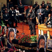Usa, a St Louis funerale di Michael Brown
