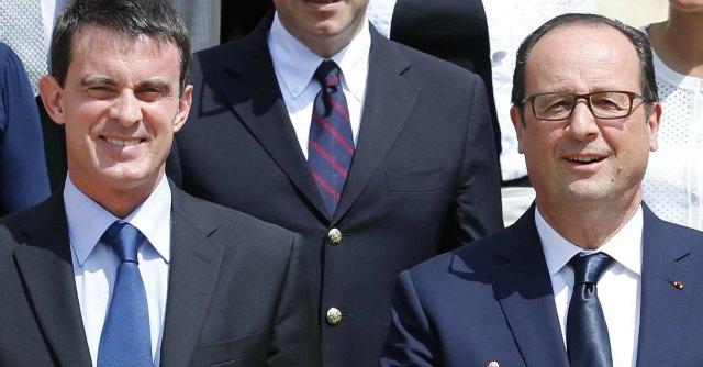 Valls Hollande