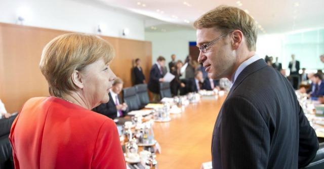 Angela Merkel e Jens Weidmann