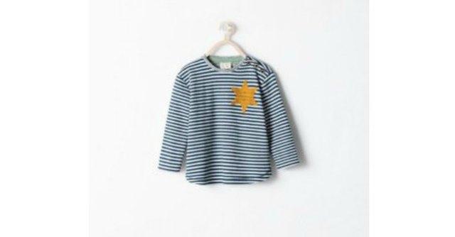 """Zara vende pigiama a righe con stella gialla. Polemiche: """"Ricorda divise dei lager"""""""