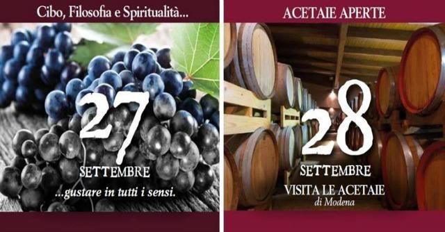 Acetaie Aperte 2014, il balsamico di Modena tra gusto e spiritualità