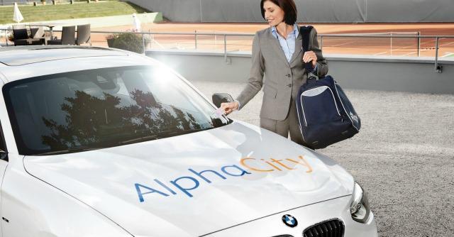 AlphaCity, il car sharing (anche elettrico) ora contagia le aziende