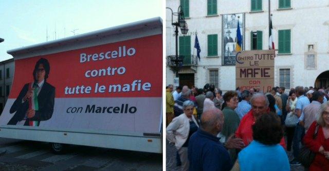 Brescello, paese in piazza per il sindaco che difese il boss. E il Comune lo salva
