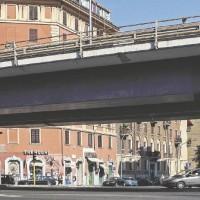 PRIMA. Tangenziale Est a Roma.  Sul Fatto Quotidiano del 15/09/2014 – (Foto di Olga Ribichini)