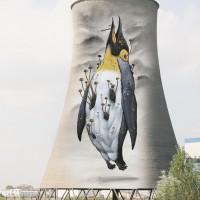 DOPO. Ex-industria petrolchimica Sarom, Ravenna.  Sul Fatto Quotidiano del 29/09/2014 – (Bozzetto di Veks Van Hillik)