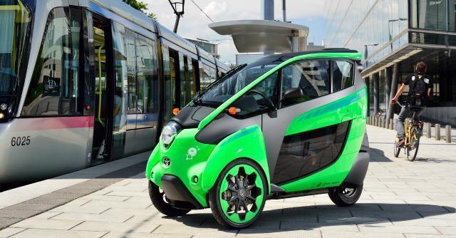 """Toyota, a Grenoble esperimento """"ultimo miglio elettrico"""" con un 'mini' car sharing"""