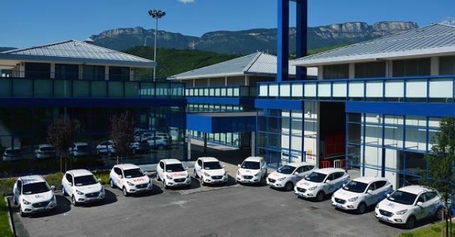 Auto a idrogeno, al via a Bolzano il noleggio delle Hyundai fuel cell