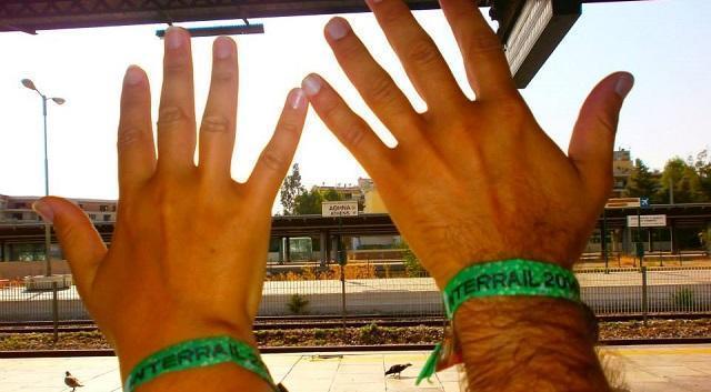 InterRail Grecia-Balcani, tappa 1: Atene