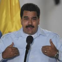 Colombia, Nicolas Maduro in conferenza