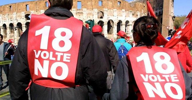 Articolo 18, i lavoratori sotto ricatto