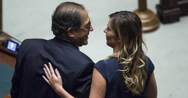 Donato Bruno e Maria Elena Boschi 640