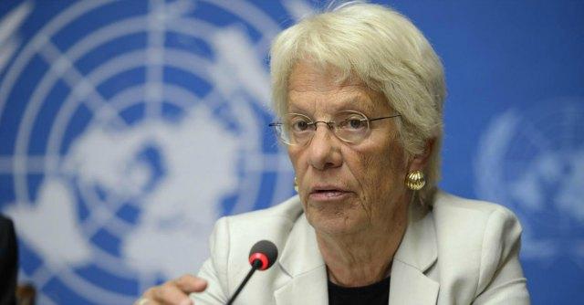 """Isis, Carla Del Ponte: """"Attacco Usa in Siria è una violazione del diritto internazionale"""""""