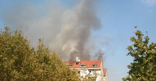 incendio viale certosa a milano