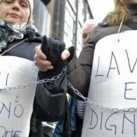 Protesta lavoratori licenziati