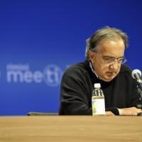 Sergio Marchionne al meeting di Rimini