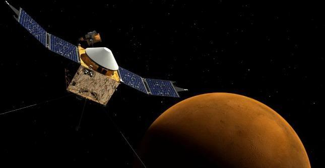 Marte, Maven nell'orbita del Pianeta Rosso. Percorsi 711 milioni di chilometri