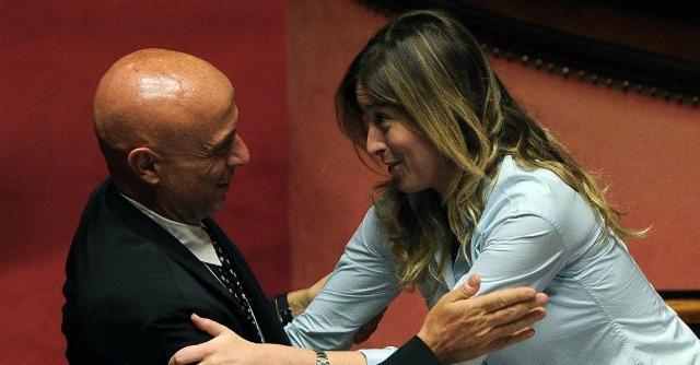 Maria Elena Boschi e Marco Minniti
