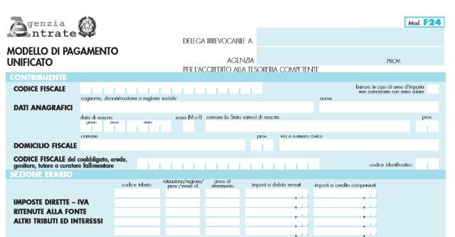 F24 telematico, obbligatorio dal 1 ottobre per i pagamenti oltre 1.000 euro