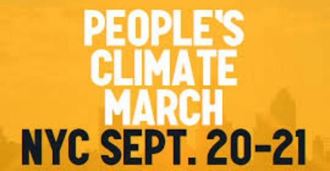 """""""People's climate march"""": iniziative in 166 Paesi contro il riscaldamento globale"""